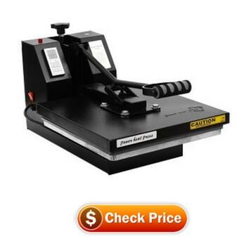 PowerPress Industrial-Quality Digital Sublimation T-Shirt Heat Press