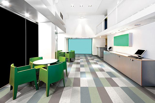 vinyl flooring in the office -what is vinyl