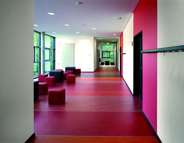 colorful vinyl floor - what is vinyl