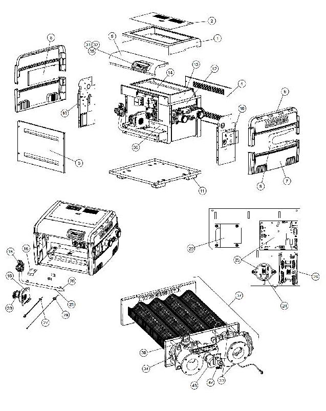 H250FDPASME (HAY-15-725) 250K BTU, PROPANE, H SERIES, LOW