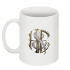New White Coffee Cup/Mug with H&E Logo