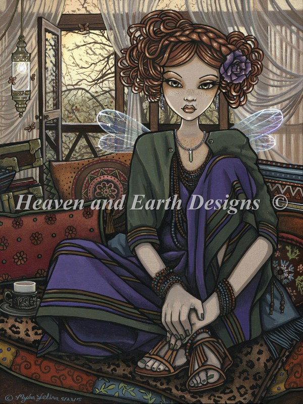 Jelina Myka Heaven And Earth Design Cross Stitch Patterns Counted