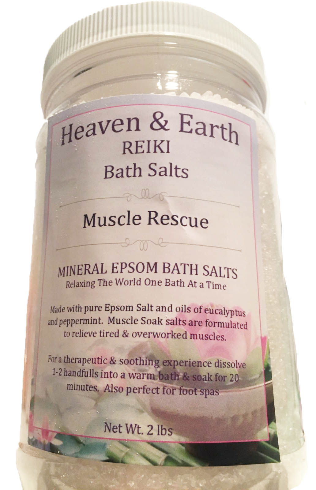 Heaven 2 Earth Rescue : heaven, earth, rescue, Heaven, Earth, Reiki, Salts, Oasis