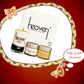 The Scent Candle Kit £65.00 Contains 15ml Bee Venom Eyes 15ml Age Defiance Cream Small Scent Candle http://www.heavenskincare.com/Products/Product.aspx?ID=191