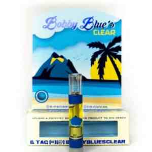 Buy Moonrock Bobby Blue Clear Cartridges