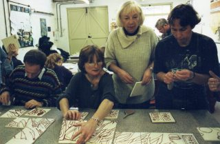 Anne Bate Williams Teacher and Artist was responsible for the whole project