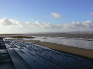 New Years day 2013 at Burnham on Sea