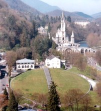 A birds eye view of Lourdes