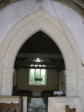 Ampney Crucic nave1