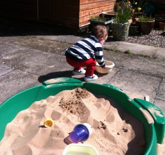 Let's spread the sand around