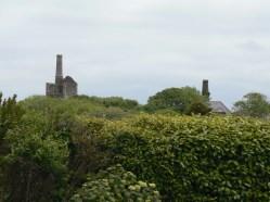 derelict mines dotted around St Agnes