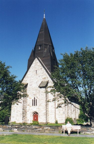 Old Church in Voss
