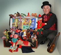 Professor Collwobbles' puppets