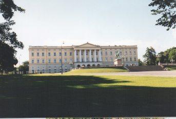 Royal Palace of King Karl Johan and family