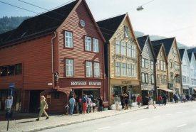 Unesco World Heritage Site Bryggen
