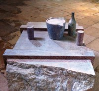 Still Life on ancient Stone Crate (2)