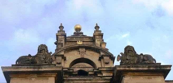 Blenheim palace detail