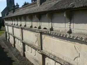 back of bee wall