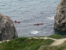 Canoes in Dorset