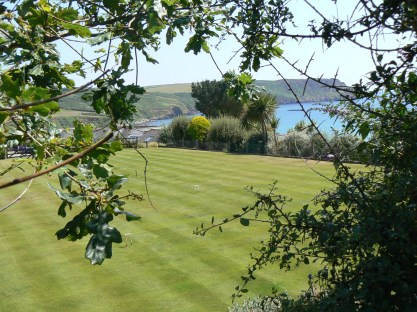 Green fields of Cornwall