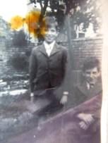 Ken and Lionel langsbury during the war
