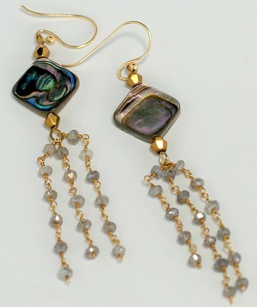 English Channel Dangle Earrings