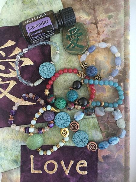 Yoga Bracelets Aromatherapy