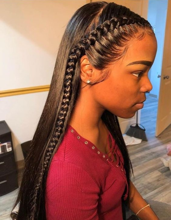 make lace front wig