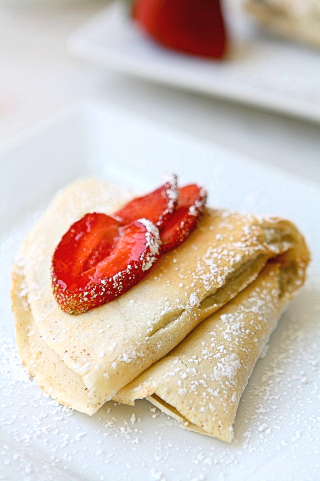 Mascarpone Crepes with Nutella Filling 2