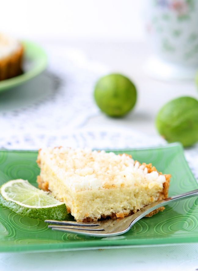 Key Lime Pie for Two | Sweet and tangy all natural key lime pie perfectly portioned for two! | www.heavenlyhomecooking.com