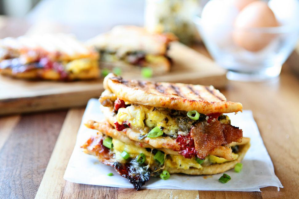 Breakfast Panini | Take your breakfast to the next level! Sun-Dried ...