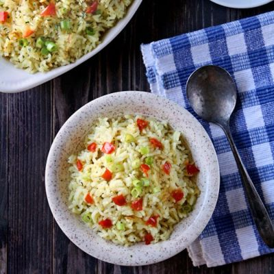 Garlic and Herb Long Grain Rice