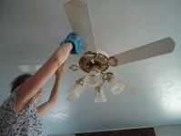 How To Clean A Ceiling Fan | Thecarpets.Co