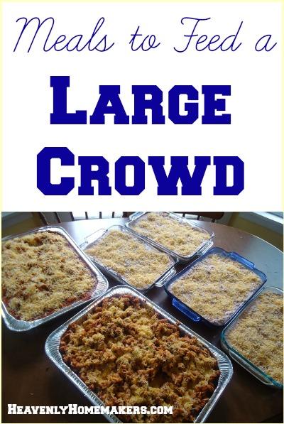 Lunch Crowd Ideas Menu