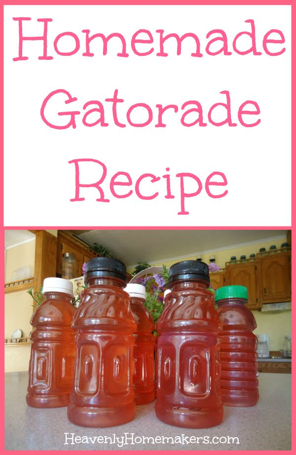 How to Make Gatorade