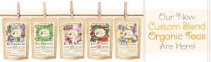 cutom blend organic teas