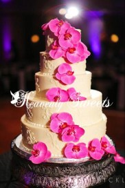 Custom Scroll & Orchids photography by Jennifer Strickland