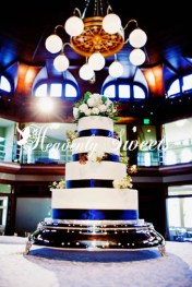 smooth with ribbon heavenly sweets wedding cakes