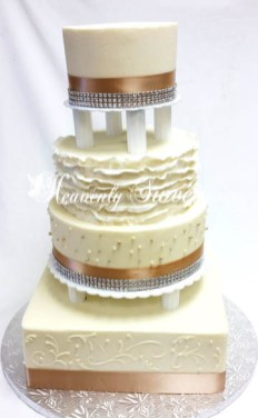 Seperated with Fondant Ruffles