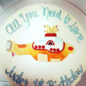 Yellow Submarine Cake 2013