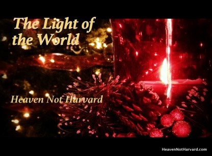 Letting Christmas be about reflecting the light of the world
