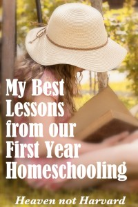 Homeschooling is more than just teaching school at home. Even after 17 years teaching school, I had so much to learn this first year of homeschooling.