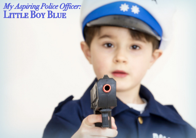 Police Officers have always had my respect, but all I see when I heard the news about the Dallas tragedy is my aspiring police officer: our little boy blue.