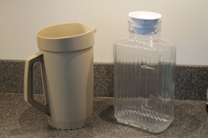 Plastic pitcher HeavenScentOils4U.com