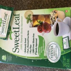 box of sweetleaf stevia
