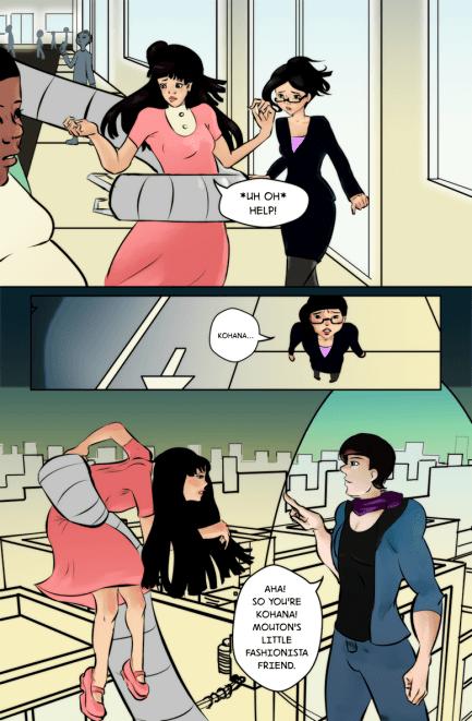 "Mouton comic: ""Fashionista Friend"""