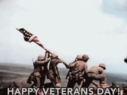 "HeavenSentTweet: ""#VeteransDay"""