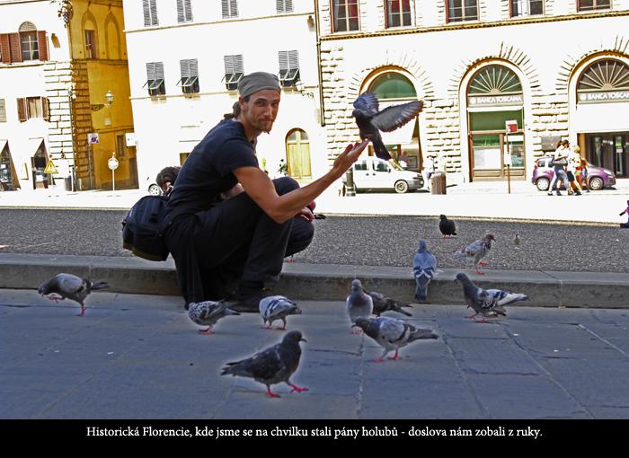 Viktor Hejna ve Florencii