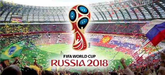 FIFA WORLD CUP RUSSIA 2018 開幕