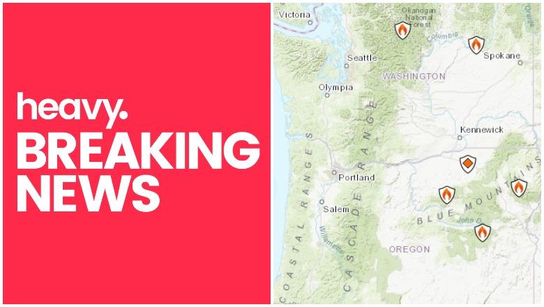 Blue river community total loss eugene weekly. Oregon Wa Fire Map Near Me Track Portland Fire More Heavy Com
